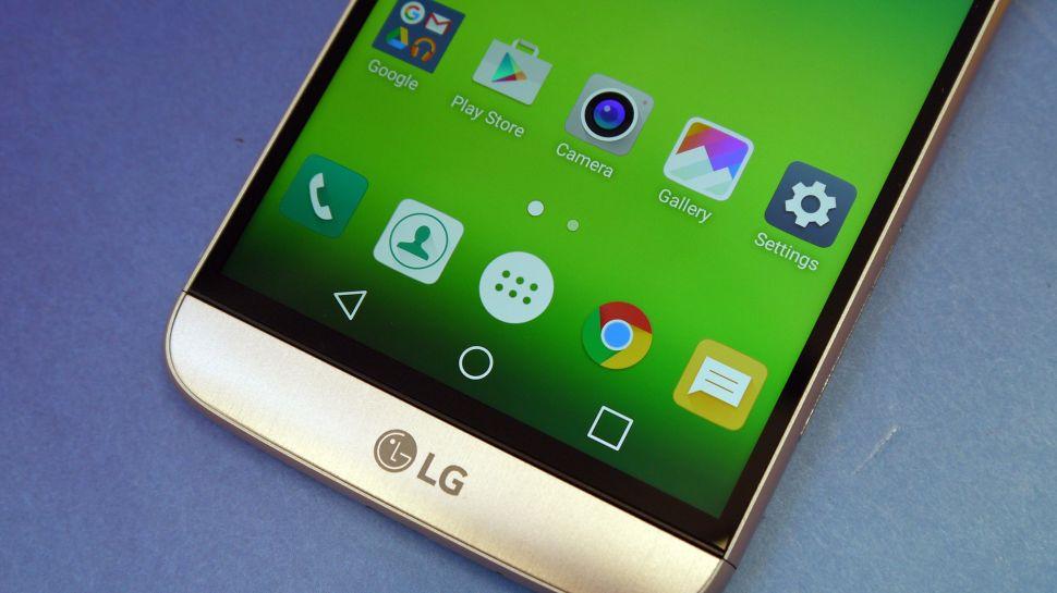 Как включить лоток приложений на LG G5