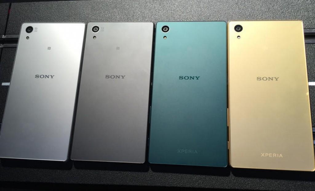 Лучший смартфон - Sony Xperia Z5