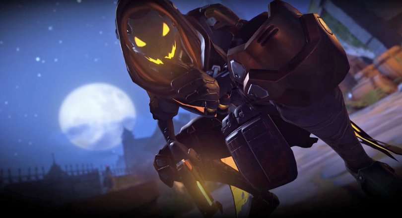 Обновление Овервотч Хэллоуин Террор