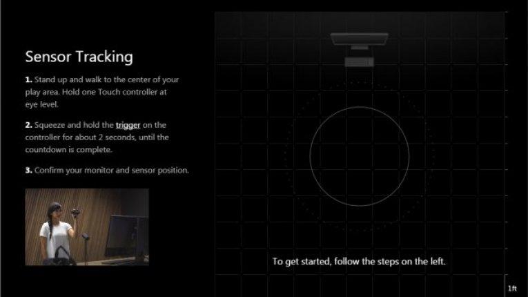 Настройки Oculus Touch
