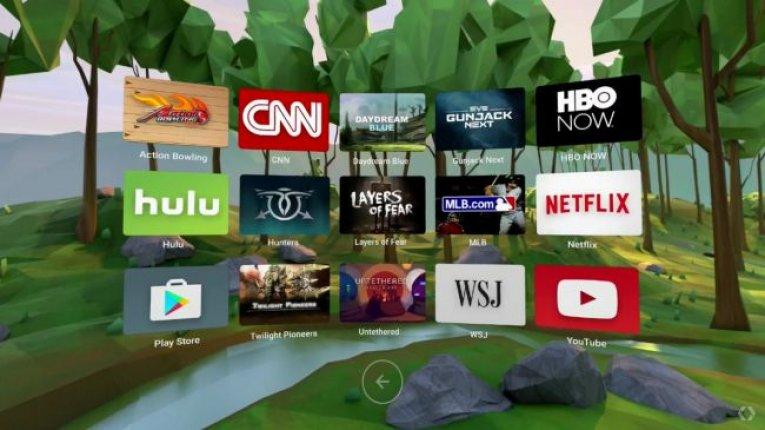 Приложения Google Daydream View