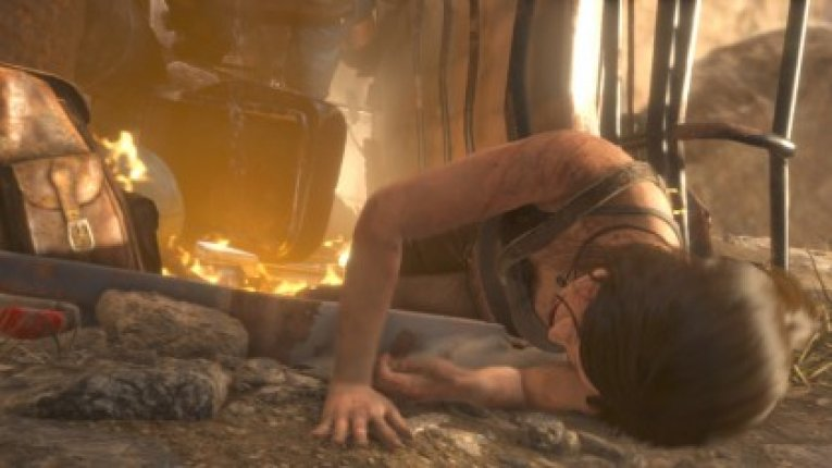 Rise Of Tomb Rider на Xbox One S