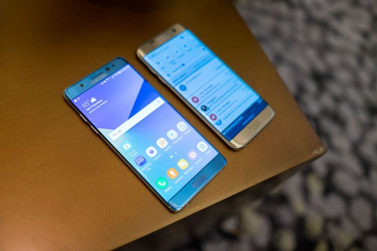 Samsung Galaxy S7 Edge и Galaxy Note 7