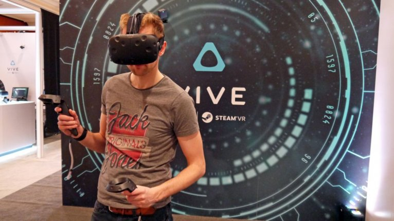 Виртуальная реальность с HTC VIve
