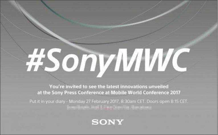 Приглашение Sony на MWC 2017