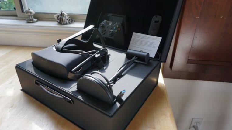 Oculus Rift в коробке