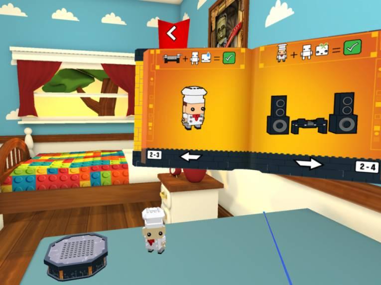 Игра LEGO Brickheadz Builder VR