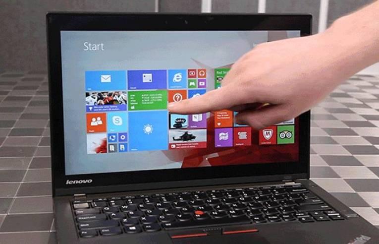 Сенсорный экран ноутбука