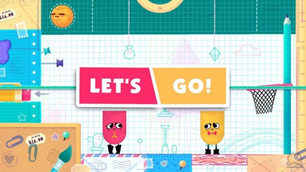 Snipperclips для Nintendo Switch