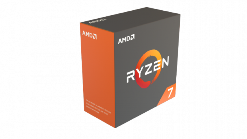 Процессор AMD Ryzen 7 в коробке