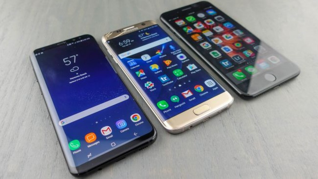 Samsung Galaxy S8 Plus vs Galaxy S7 Edge vs iPhone 7 Plus