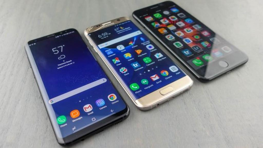 Samsung Galaxy S8 Plus vs Galaxy S7 Edge vs iPhone 7 Plus