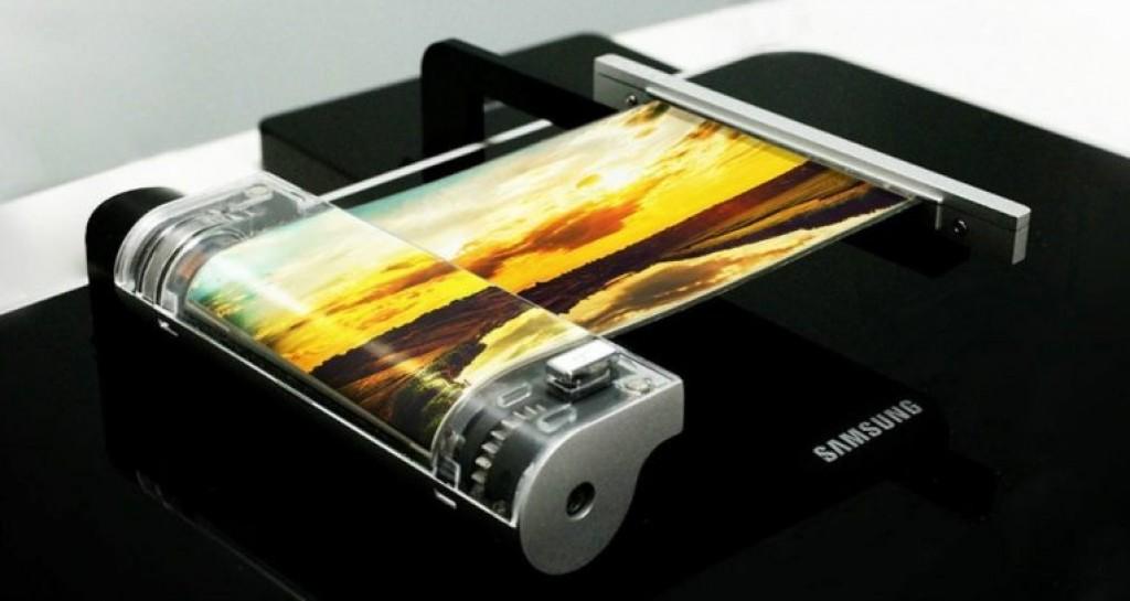 Складной (гнущийся) экран Samsung