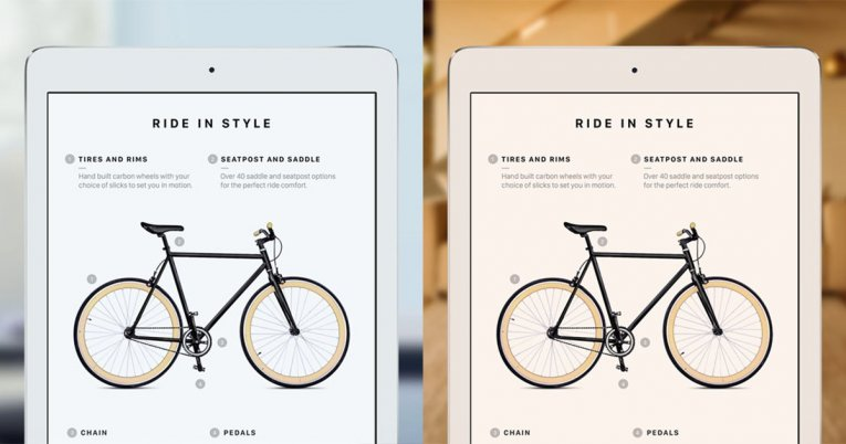 Технология True Tone на iPhone