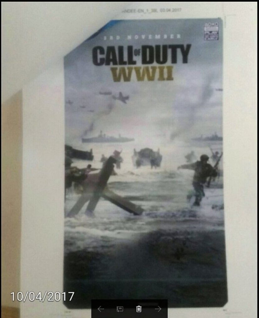 Call Of Duty WWII 2017