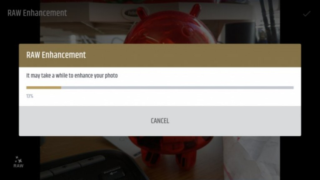 Настройки RAW на HTC U11