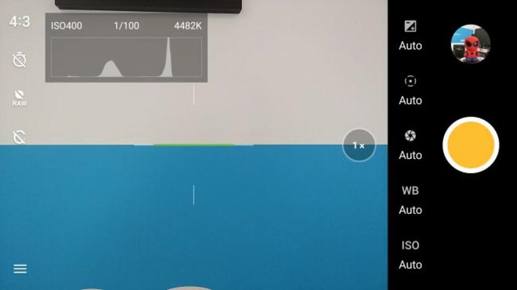 Интерфейс OnePlus 5