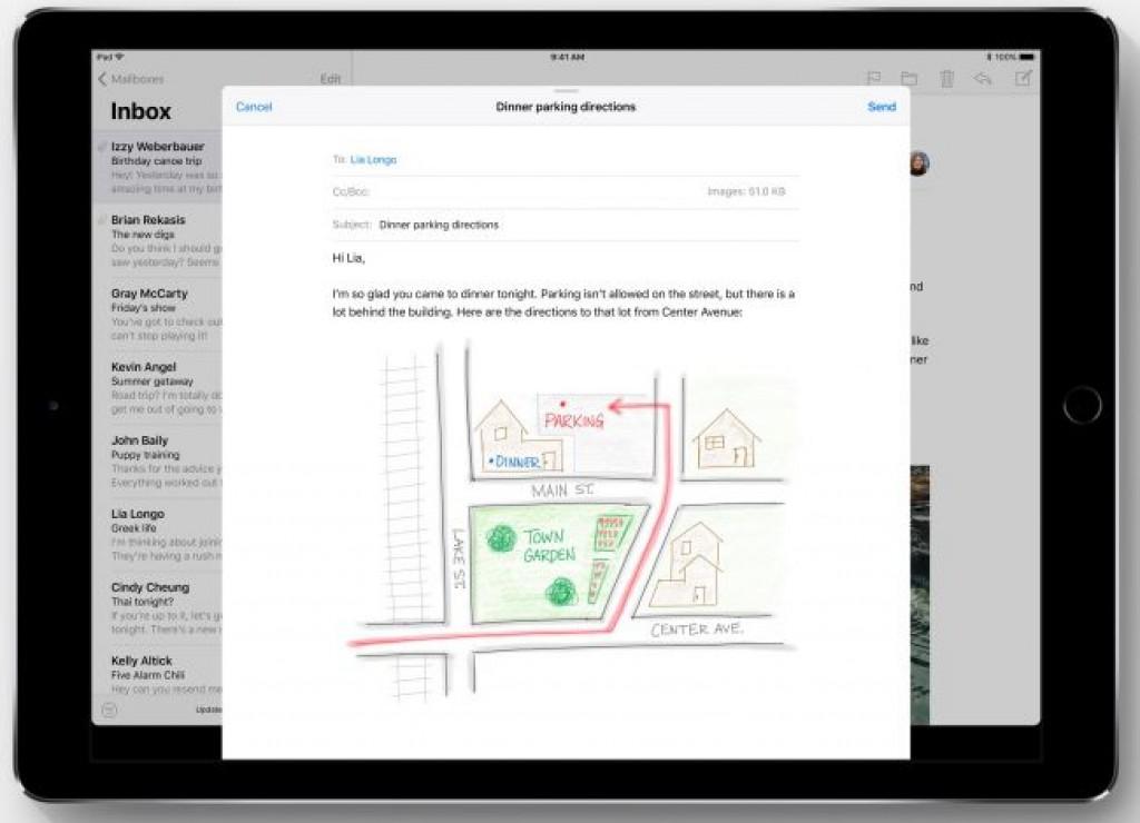 Обновление iOS 11 - Заметки на тексте