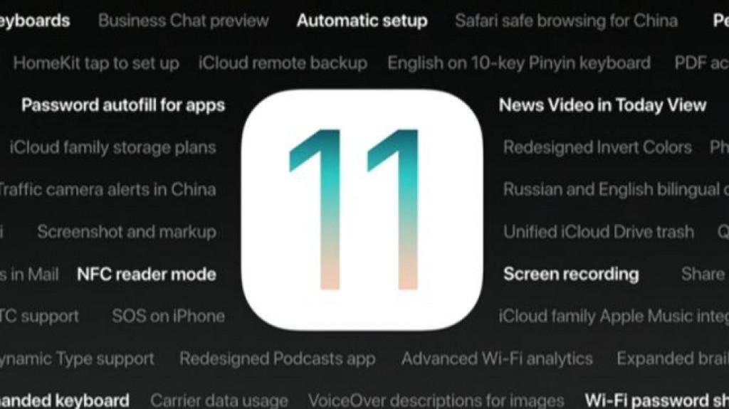 Обновление iOS 11 - Новые функции