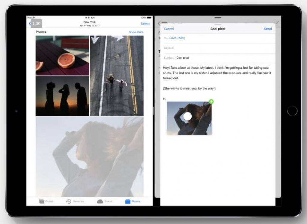 Обновление iOS 11 - Перетаскивание и разделенный экран