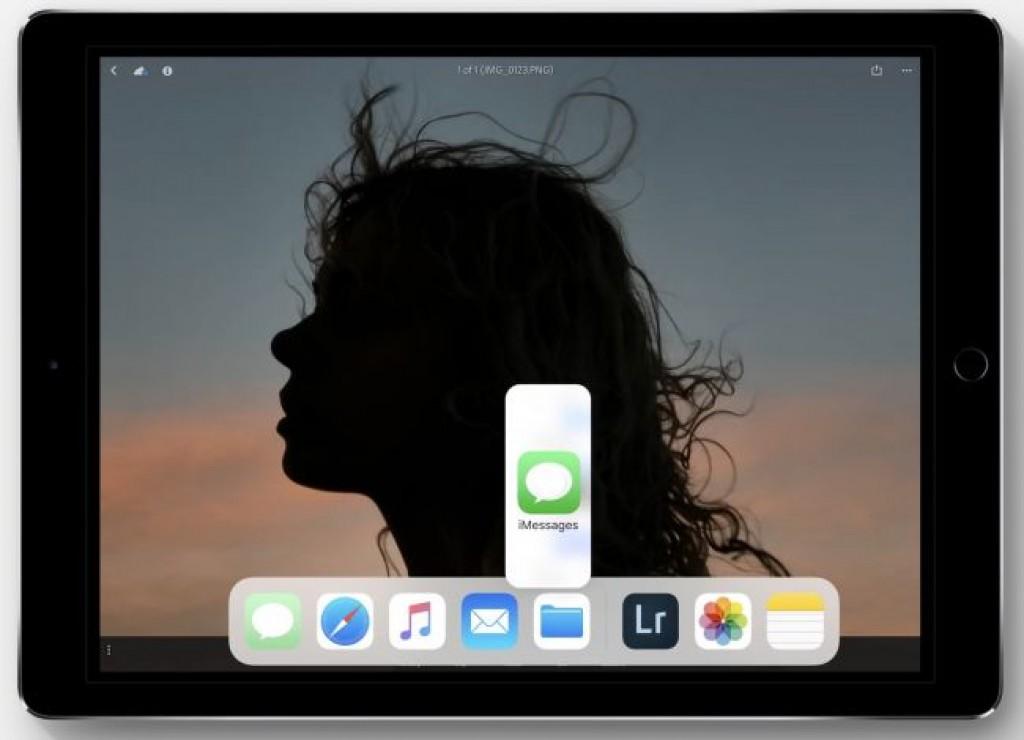 Обновление iOS 11 - Перетаскивание приложений