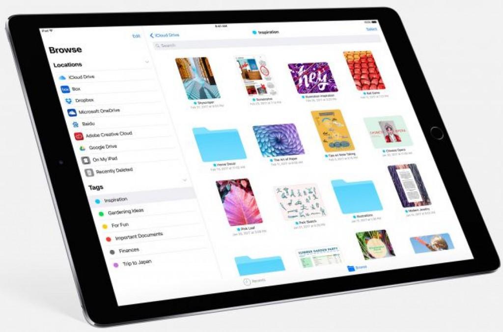 Обновление iOS 11 - Apple Files