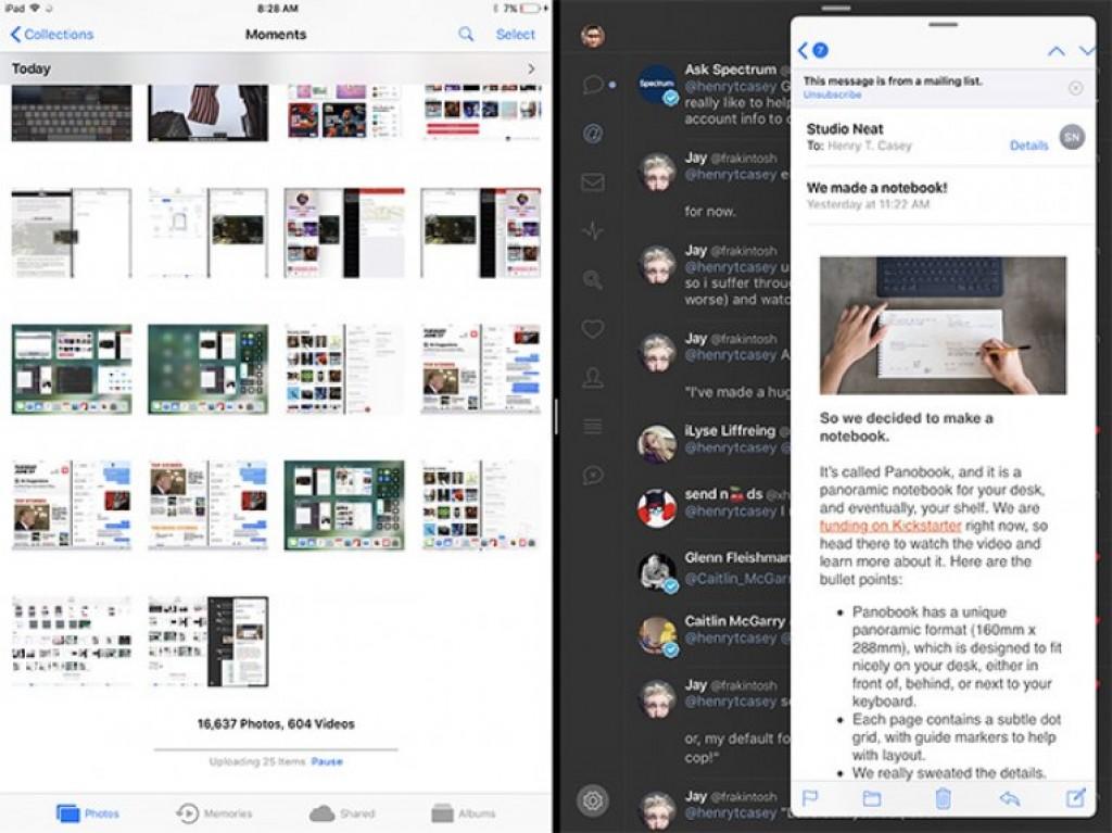 Интерфейс iPad Pro 2 12.9