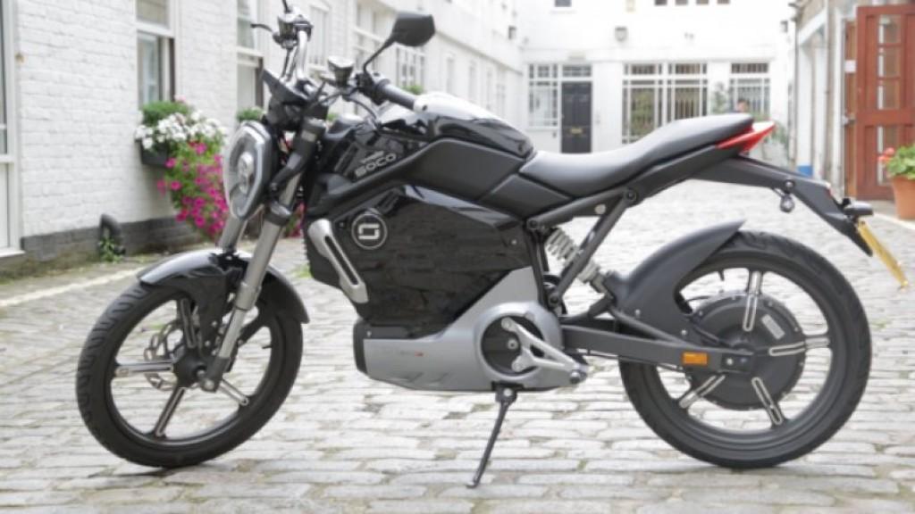 Электрический мотоцикл Super Soco