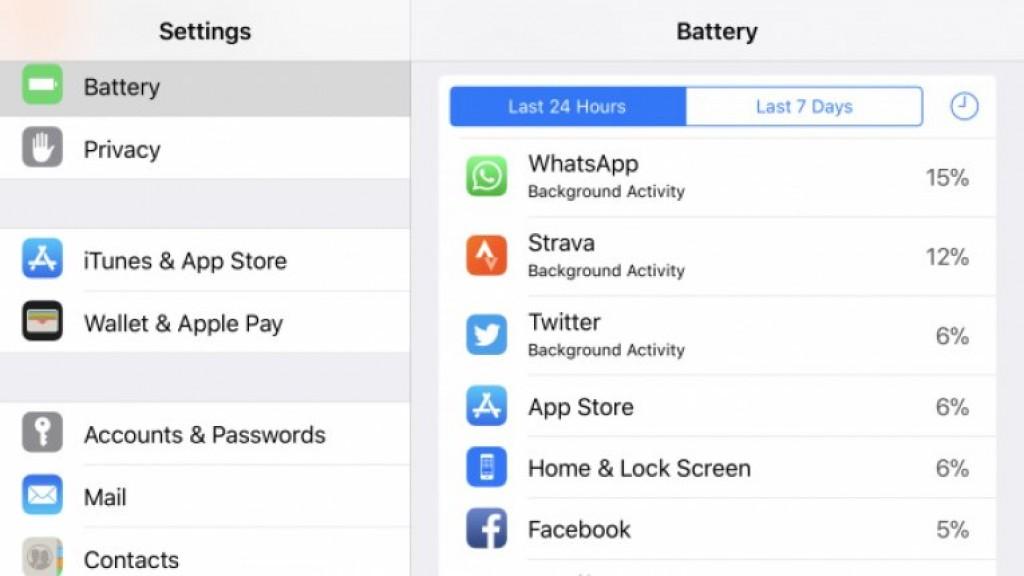Интерфейс iPhone 8 Plus