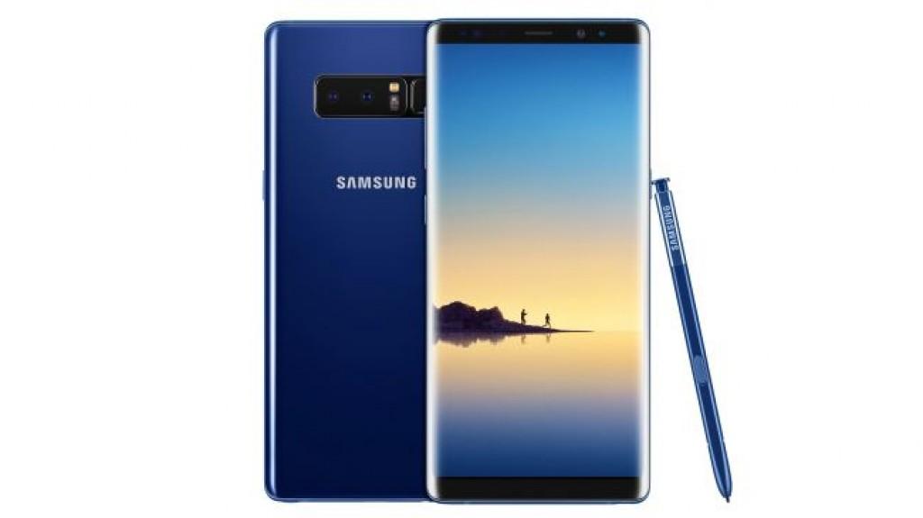 Цвет Samsung Galaxy Note 8 Deep Sea Blue