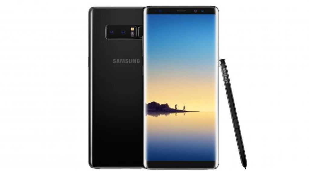 Цвет Samsung Galaxy Note 8 Midnight Black