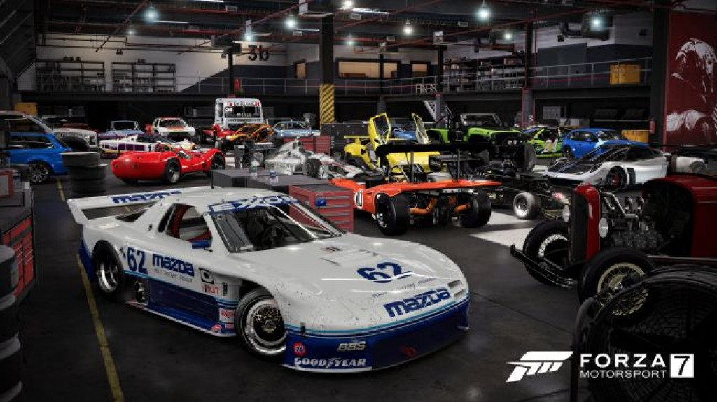 Парк автомобилей Forza Motorsport 7