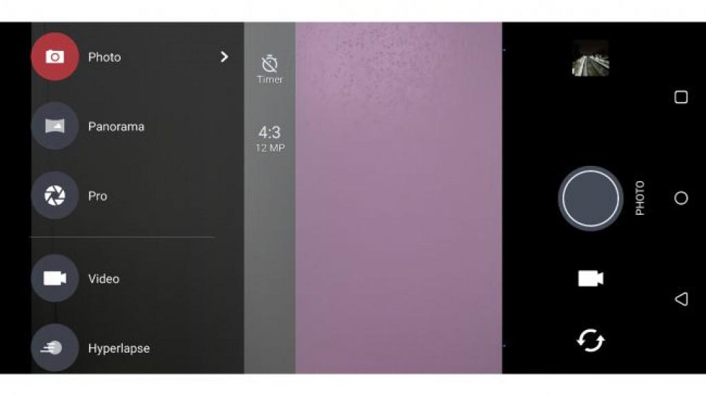 Интерфейс камеры HTC U11 Plus