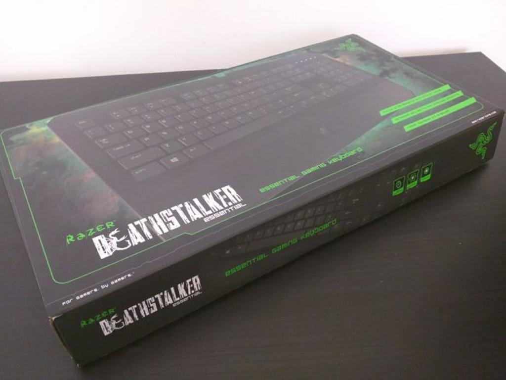 Распаковка Razer DeathStalker Essential