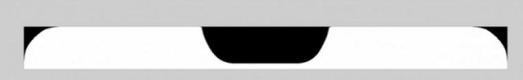 Вырез экрана Huawei P20