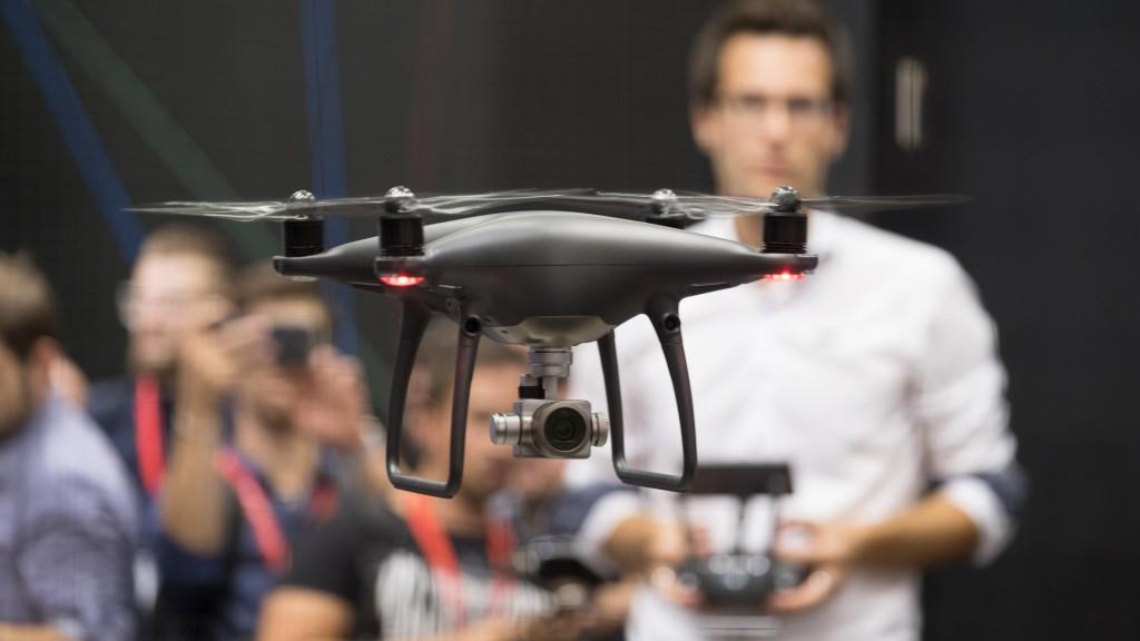 Квадрокоптеры на CES 2018