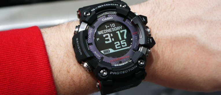 Обзор Casio G-Shock Rangeman