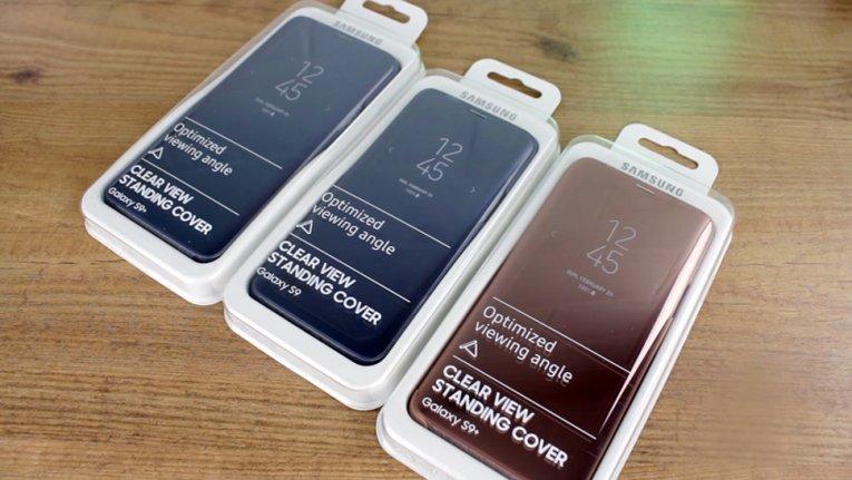 Чехлы Clear View для Galaxy S9