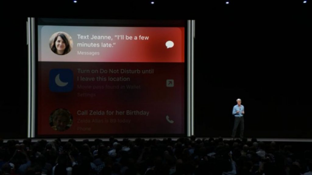 Новые функции Siri