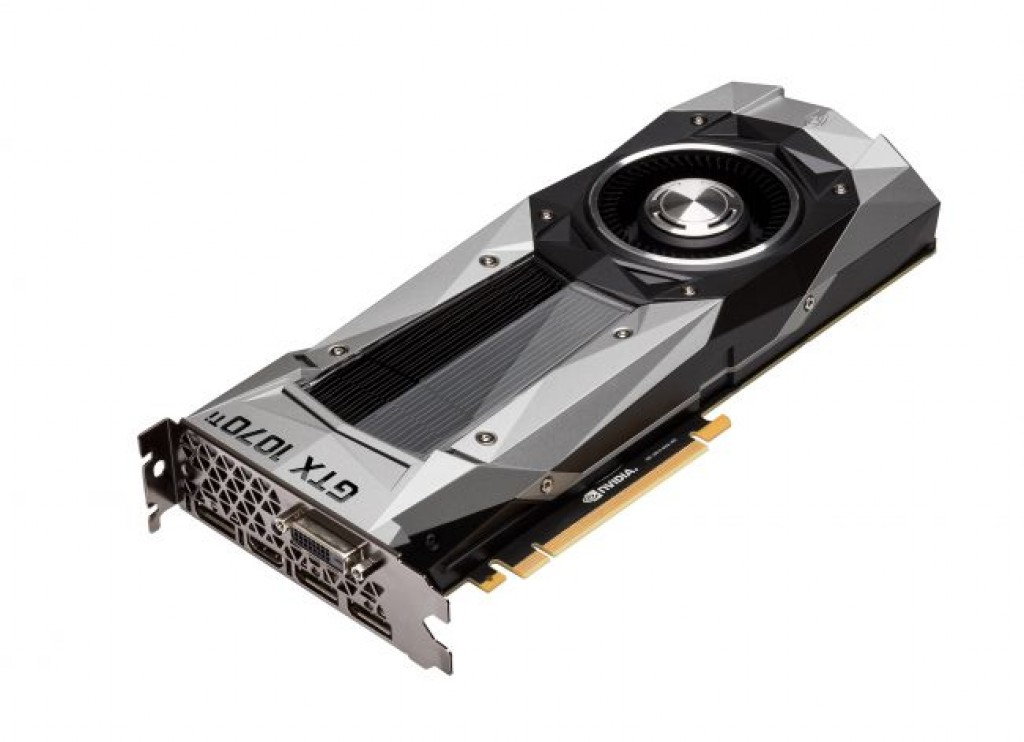 Видеокарта Nvidia GTX 1070 Ti