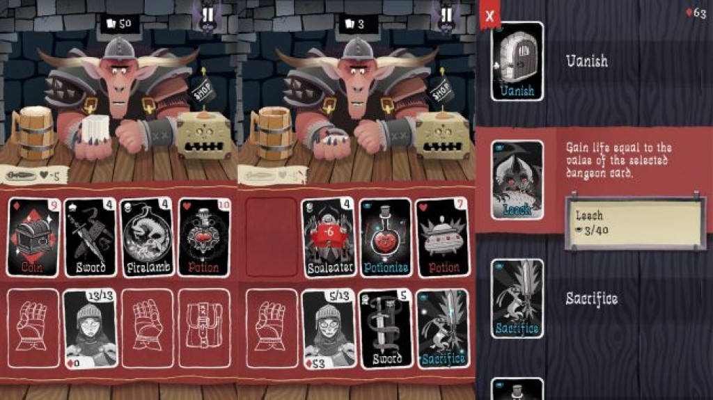 Игры на iPhone - Card Crawl