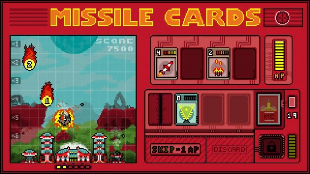 Игры на iPhone - Missile Cards