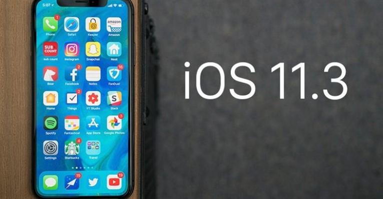 Обновление iOS 11.3