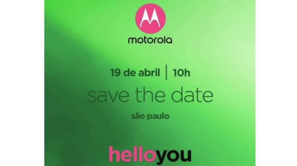 Приглашение Motorola на Moto G6