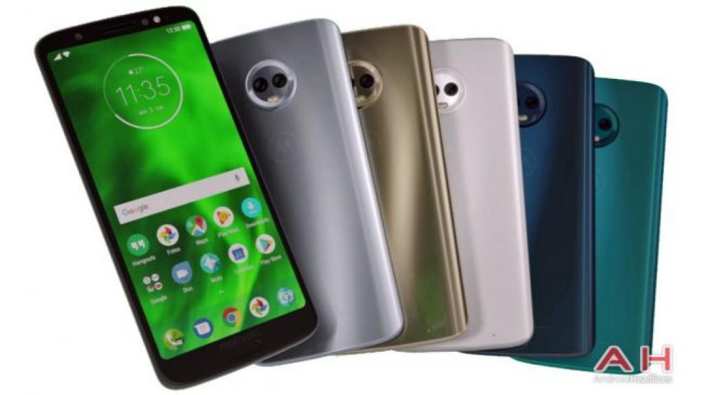 Цвета Motorola Moto G6