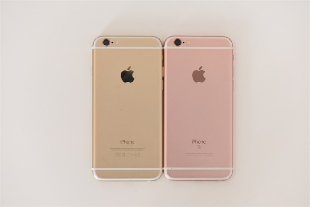 Apple iPhone 6S (Розовый и Золотой)