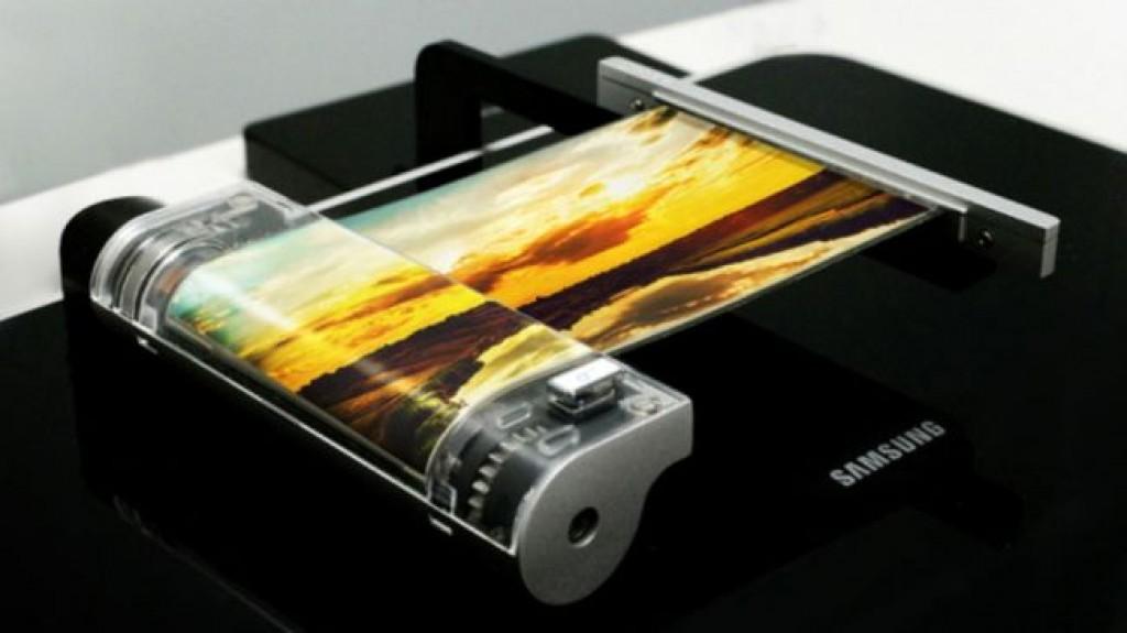 Сгибаемый экран Samsung