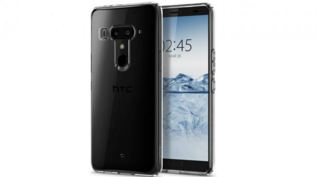 Чехол HTC U12 Plus - Spigen Liquid Crystal