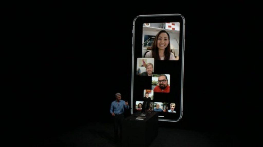 Обновление iOS 12 - Групповой FaceTime