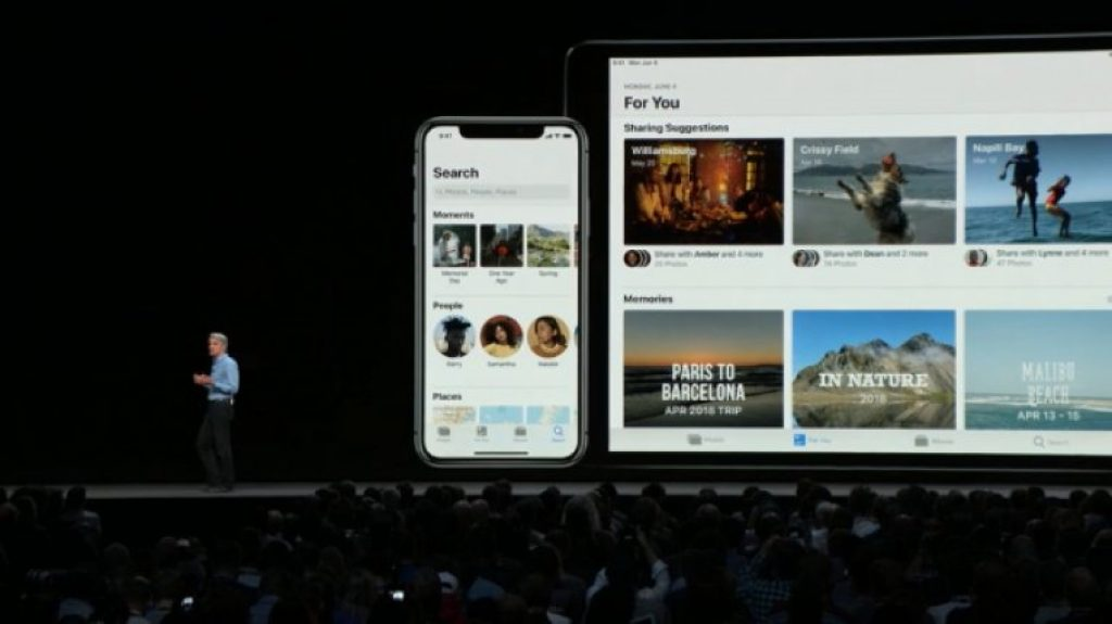 Обновление iOS 12 - Обмен фотографиями